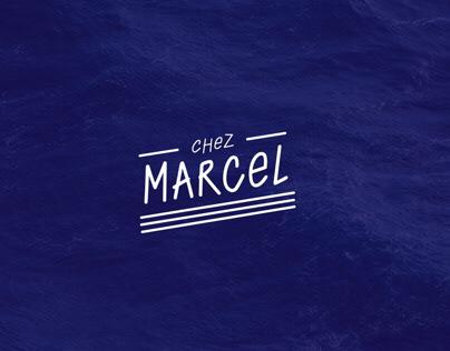 CHEZ MARCEL - BRAND IDENTITY