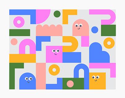 Quarantine Illustration Series