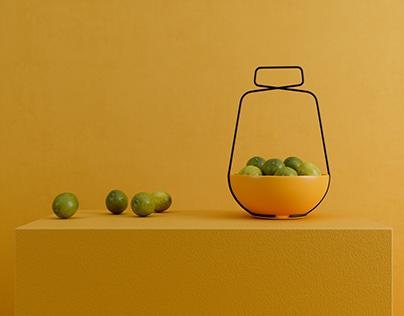 Playing with lemons!