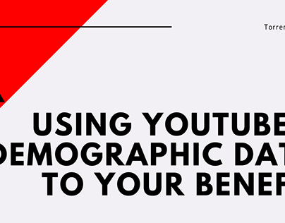 Using YouTube's Demographic Data to Your Benefit