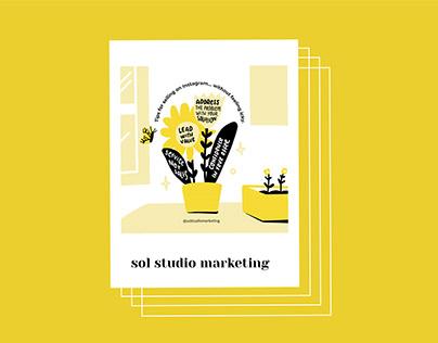 sol studio marketing   social media