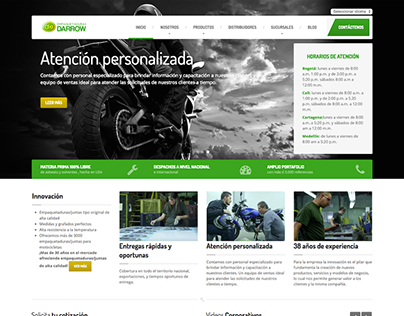 Website: Empaquetaduras Darrow