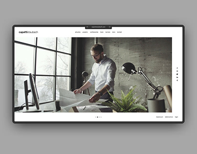 UI/UX – Capatti Staubach – Redesign Draft