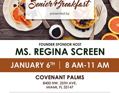 Senior Breakfast Flyer