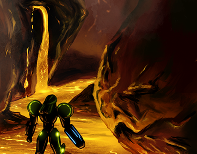 Metroid: Samus at Magmoor