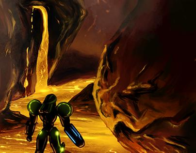 Metroid: Samus at Magmoor