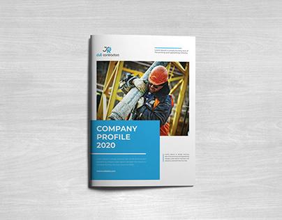 Construction Company Profile Design