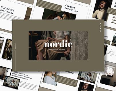 [Free Presentation] Nordic - Presentation Template