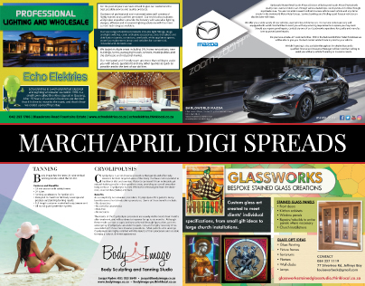 March-April 2017 Digital Spreads