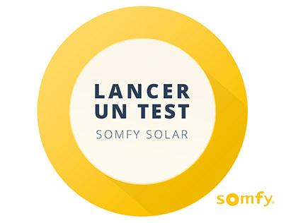 Application mobile SOMFY SOLAR APP