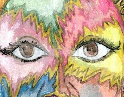 Im Every Woman 11 x 17 Acrylic illustration $70.00
