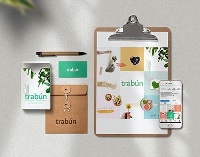 """Diseño Identidad Visual para """"Trabún"""""""