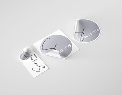 Sticker for E-commerce Clothing