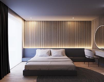 Bedroom in Minsk
