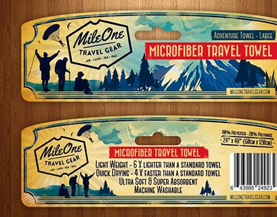 MileOne Travel Gear Headcard