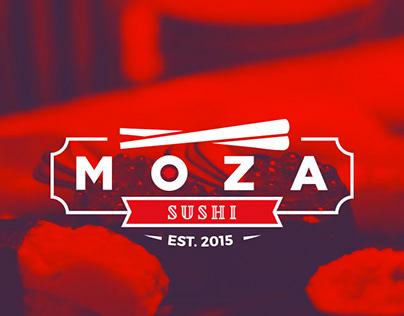 Moza Sushi - Branding