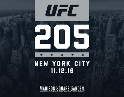 UFC 205 Deck for FOX
