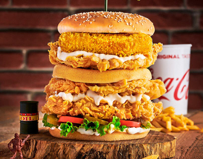 Bazooka fried chicken - Food Photography 2020