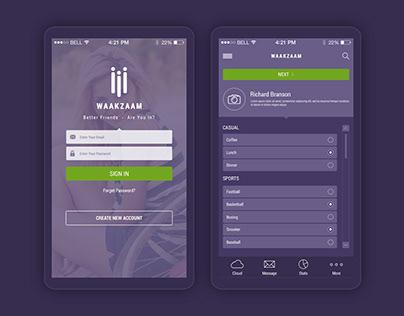 WaakZaam Mobile App