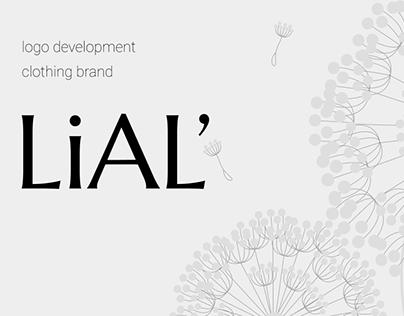LiAL' logo development