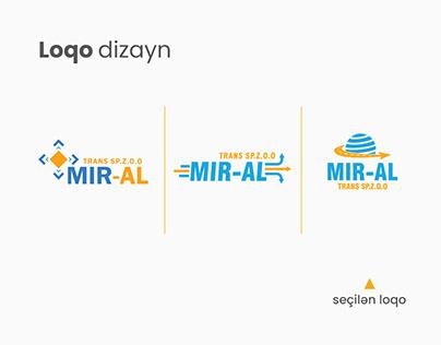 Loqo dizayn - MIR-AL Transport and Logistic