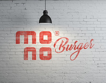 MONO Burger / Branding & interior concept design