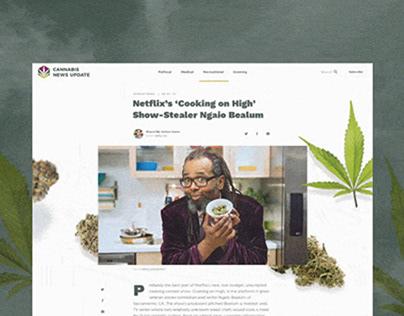 Cannabis News Website