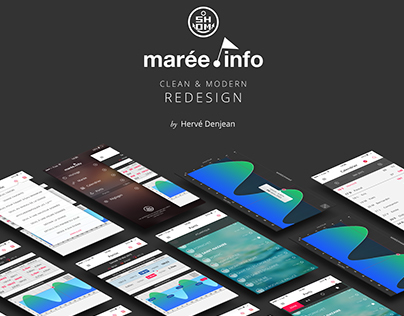 Marée.info App redesign