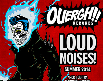 OUERGH! Records - Compilation Commissions (2014)