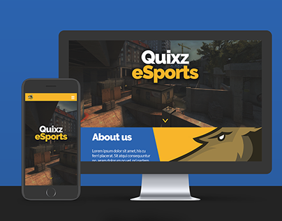 Quixz eSports Website