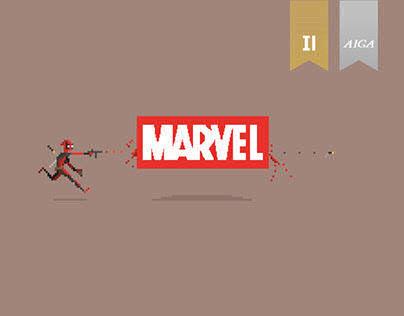 Pixel Art_Marvel Characters