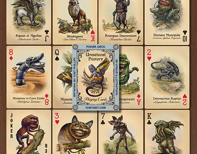Unnatural History cards