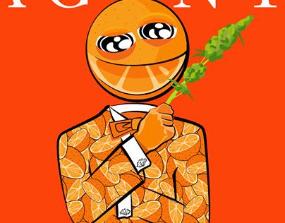 Agent Orange Strain Design