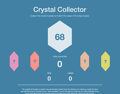 Crystal Collector