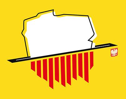 Plakat społeczny #stopwybory2020