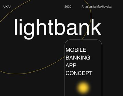 lightbank – Mobile Banking App Concept