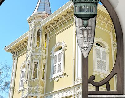Mostra: DILETTO & ARMONIA. Villeggiature marine Liberty