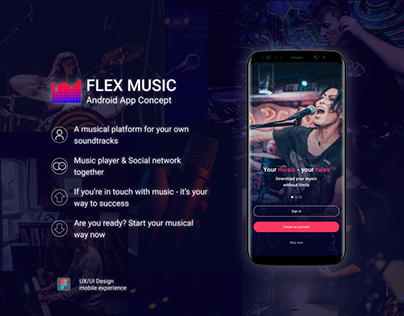 Music Player / Mobile Application Design