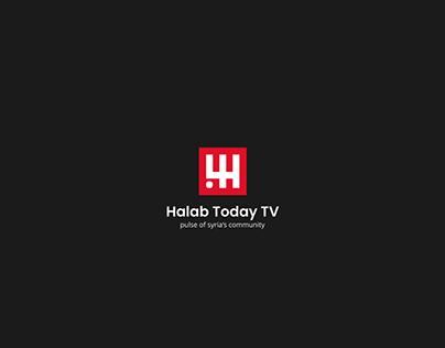 Halab Today Tv | Branding