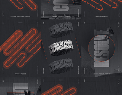 GRIT Agency - Brand Identity - Poster Series
