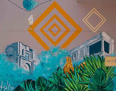 SHUTB Mural