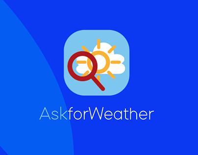 App Mobile AskforWeather