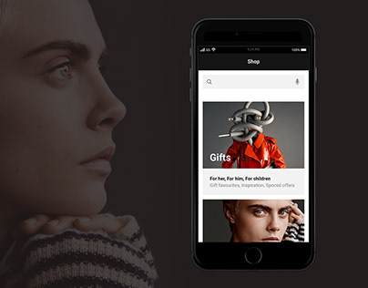 Burberry Mobile App Concept