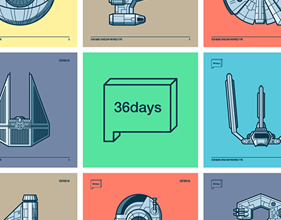 Star Wars Spaceship Type - 36 Days of Type #4