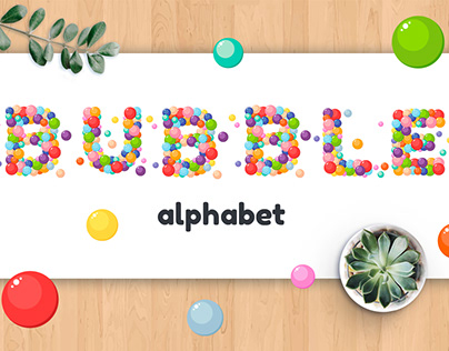 Letters of the alphabet and numbers for kids