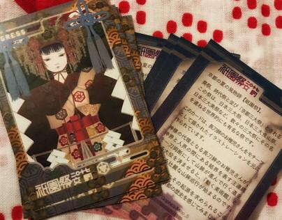 Ingress fan made Bio Card for Gion Matsuri 2017