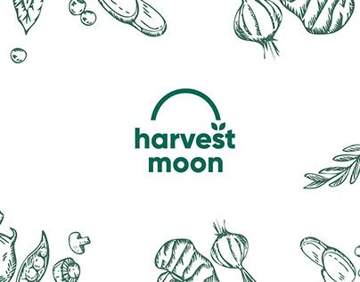 Harvest Moon Logo & Branding