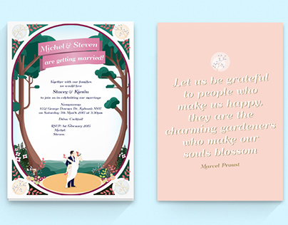 Noonaweena Wedding Stationery