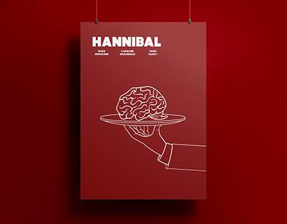 Hannibal Minimal Poster Design