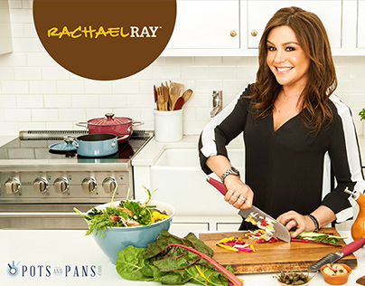 Rachael Ray marketing materials